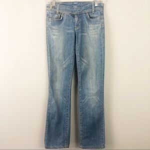 Citizens of Humanity | Side Belt Straight Jeans